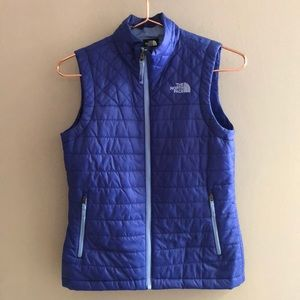 North face thin puffer vest